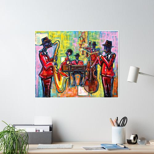 Jazz-Band Poster