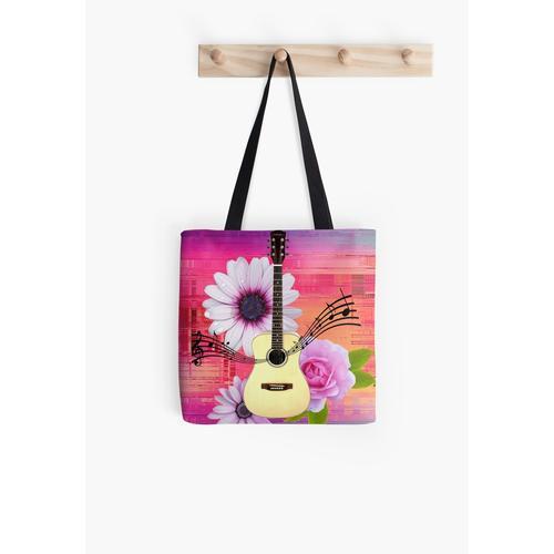 Hippie-Gitarre Tasche