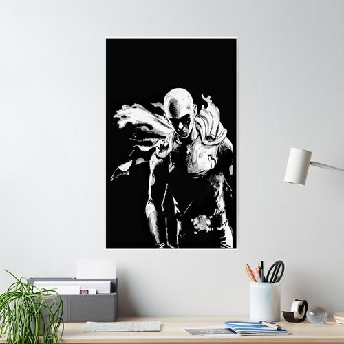 Saitamas Macht Poster