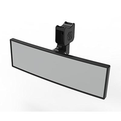 "Scosche PSM21009 Clamp 9"" Panoramic Mirror Base for ATV's UTV's x Sides"