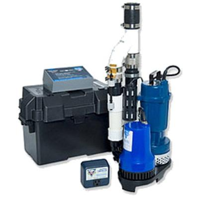 Glentronics, Inc. PS-C22 PHCC 2770 Gallons Per Hour Pro Series 1/3 HP Combination Sump Pump System w