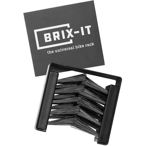 BRIX-IT Fahrrad-Wandhalterung Fahrrad Wandhalterung schwarz Rad-Ausrüstung Radsport Sportarten