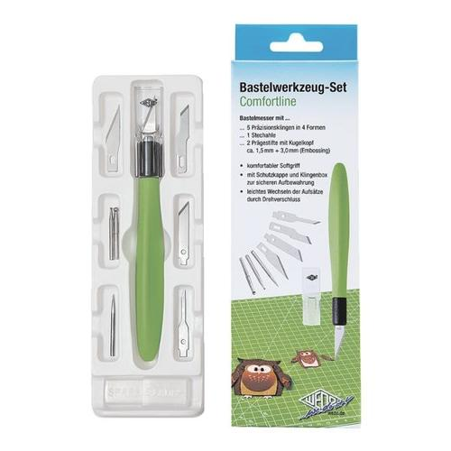 Cutter- und Bastelset »COMFORTLINE« grün, Wedo