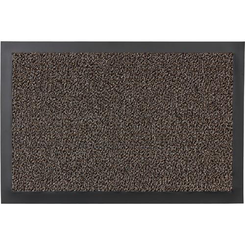 ASTRA Fußmatte Turmalin 622, rechteckig, 10 mm Höhe, Fussabstreifer, Fussabtreter, Schmutzfangläufer, Schmutzfangmatte, Schmutzfangteppich, Schmutzmatte, Türmatte, Türvorleger, In -und Outdoor geeignet braun Schmutzfangläufer Läufer Bettumrandungen...