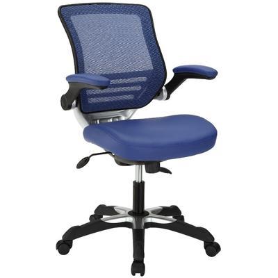 Edge Leatherette Office Chair in Blue EEI-595-BLU