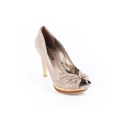 Moda Spana - Moda Spana Heels: Tan Shoes - Size 8 1/2