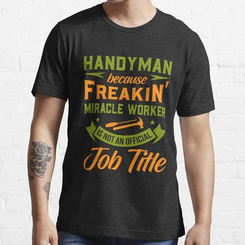 Heimwerker, Heimwerker lustig Essential T-Shirt