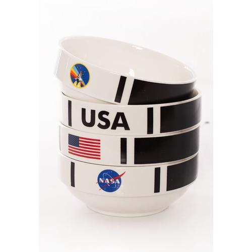 NASA - Shuttle Stackable Set Of 4 -
