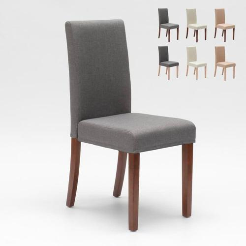 Esszimmerstuhl Esstischstuhl Gepolstert Henriksdal Design Comfort | Grau