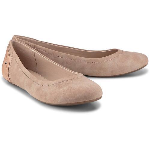 Esprit, Aloa Ballerina in rosa, Ballerinas für Damen Gr. 40