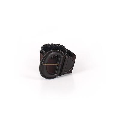 Belt: Brown Solid Accessories - ...