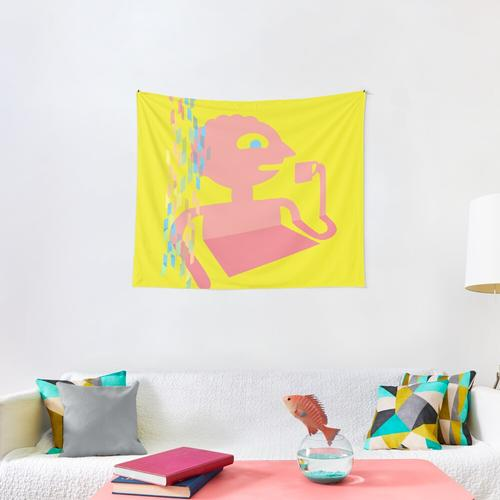 PRISMO THE WISH MASTER Wall Tapestry