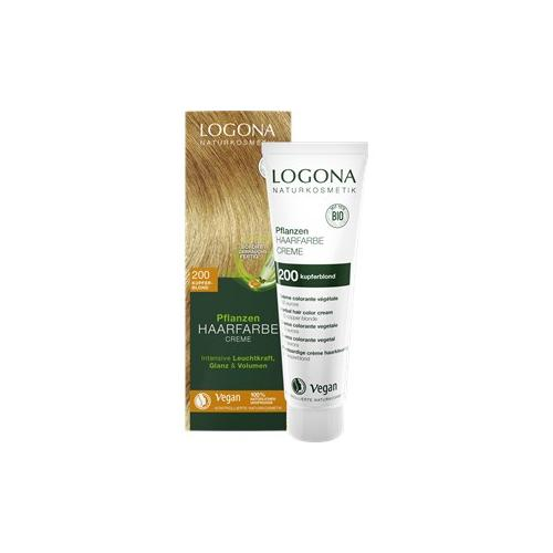 Logona Haarpflege Haarfarbe Pflanzen Haarfarbe Creme Nr. 210 Kupferrot 150 ml