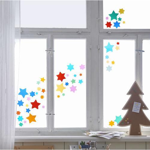JAKO-O Fensterbilder-Sterne, bunt