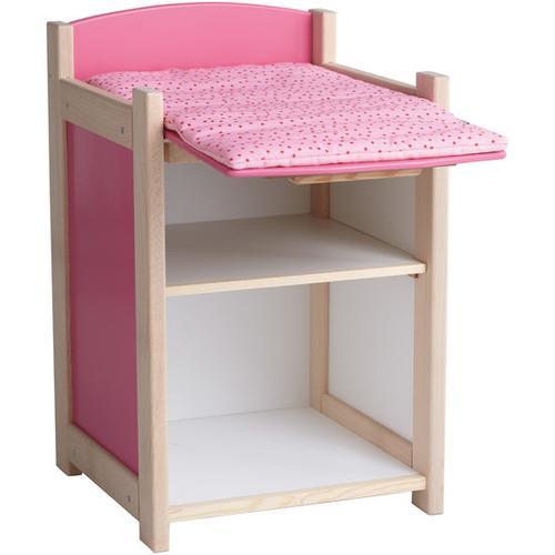 JAKO-O Puppen-Wickeltisch, rosa