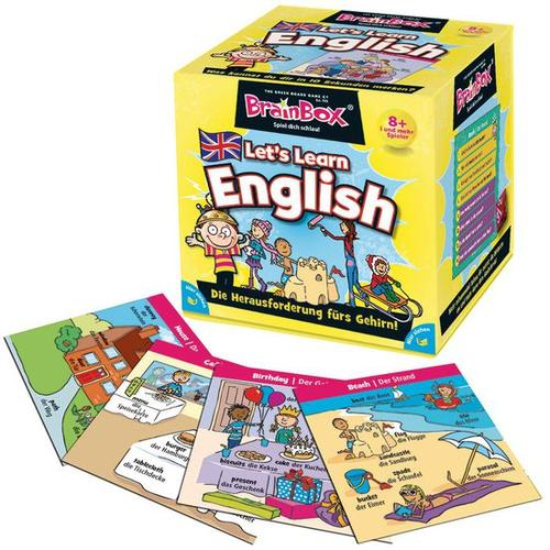 Brain Box Let´s learn English, bunt