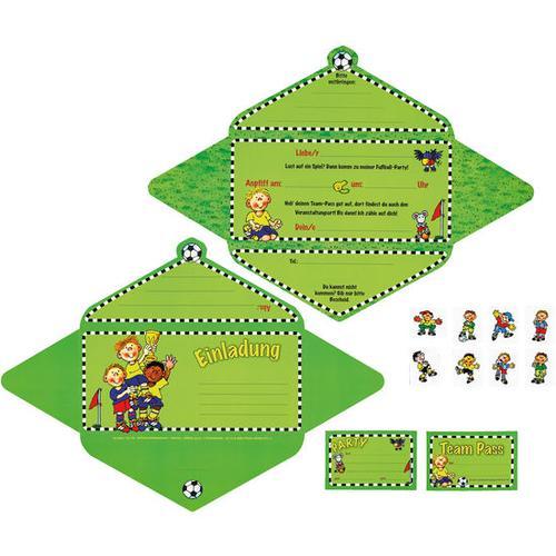 Einladungskarten, grün