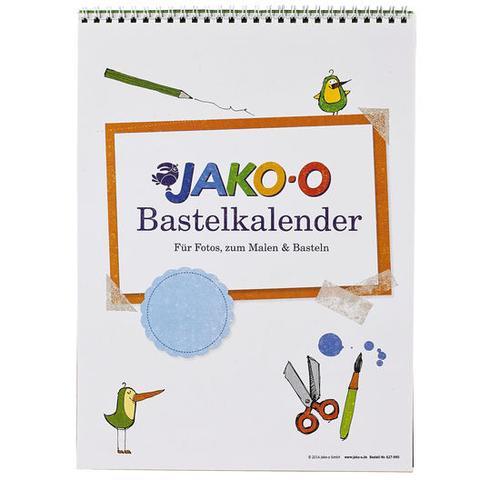 JAKO-O Mal- und Bastelkalender, bunt, bunt