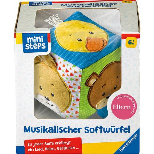 ministeps® Musikalischer Softwürfel, bunt