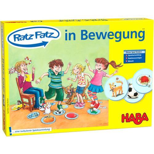 HABA Ratz Fatz – In Bewegung, bunt