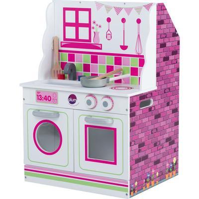 plum® 2 in 1 Holzküche und Puppe...