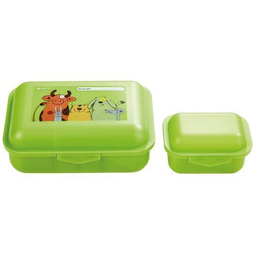 JAKO-O Brotdose Tiere, grün