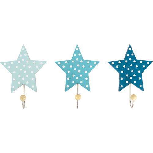 JAKO-O Wandhaken Sterne, blau