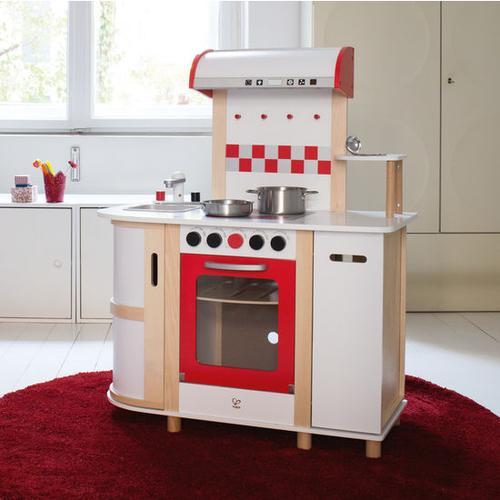 Kinderküche Holz, weiß