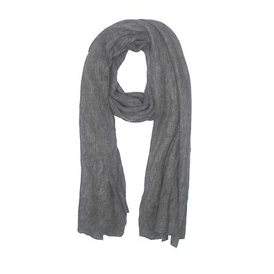 Scarf: Gray Solid Accessories