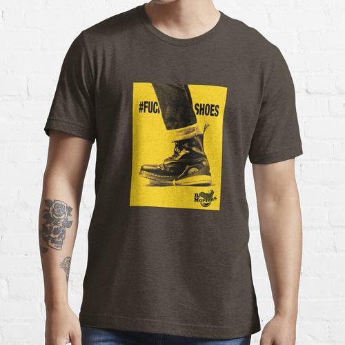 Keine Schuhe verwenden Stiefel Essential T-Shirt