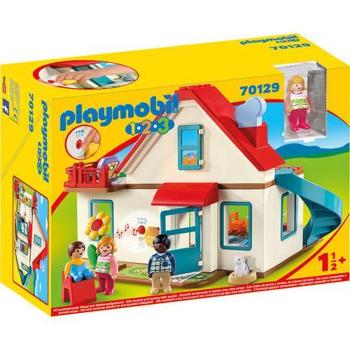 PLAYMOBIL® 1.2.3 70129 Einfamilienhaus, bunt