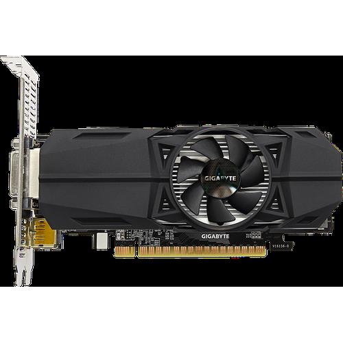 Gigabyte GeForce GTX 1050Ti OC (4GB), Grafikkarte