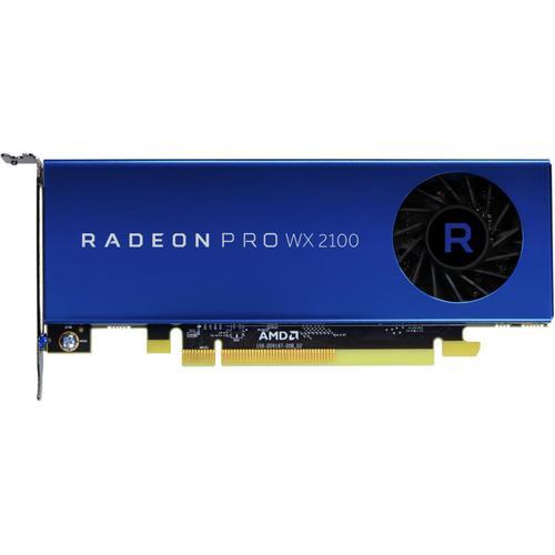 Fujitsu AMD Radeon Pro WX 2100 2GB Anschlusse 1x DP 2x Mini DP PCIe x16 ohne Adapter (2GB), Grafikkarte