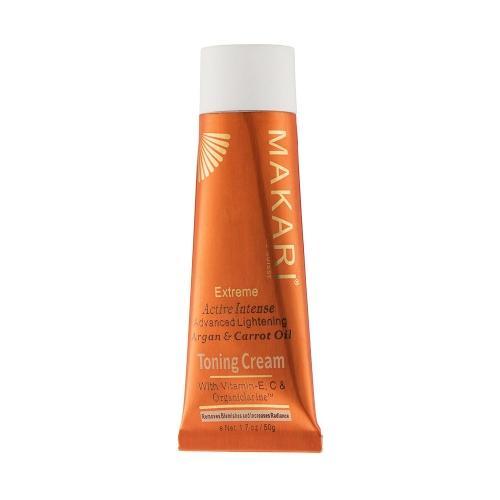 Makari Extrem Creme zur Hautaufhellung - 50g Creme - Mit Karotte & Arganöl