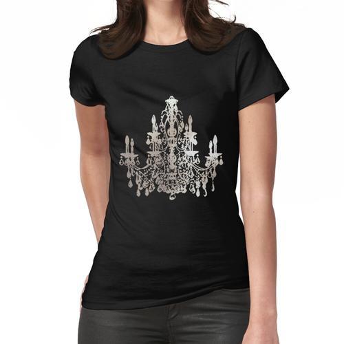 Kristallleuchter, Faux Silber Frauen T-Shirt