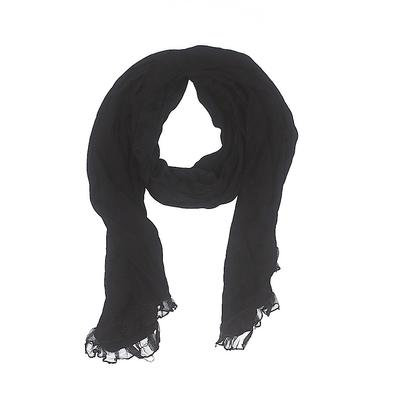 Collection XIIX Scarf: Black Sol...