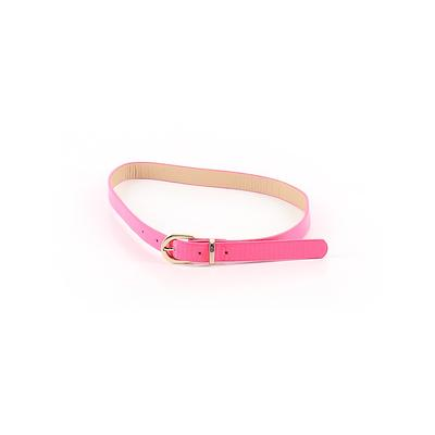 Belt: Pink Solid Accessories - Size Small