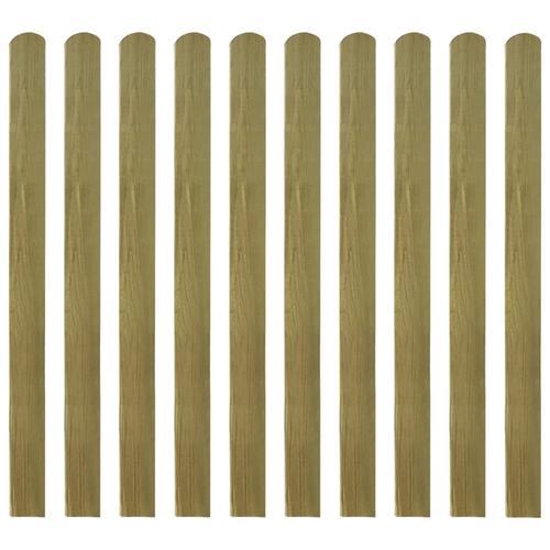 vidaXL Zaunlatten 20 Stk. Imprägniertes Holz 120 cm