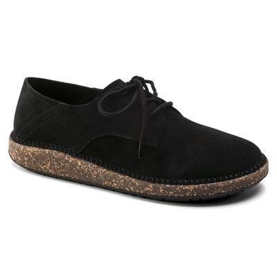 BIRKENSTOCK Gary Suede Leather Black Low Shoes