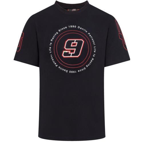 GP-Racing 9 Life is Racing T-Shirt, schwarz-rot, Größe M