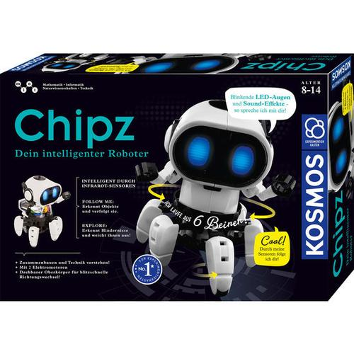 Chipz – Dein intelligenter Roboter, bunt
