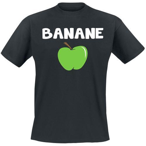 Banane Herren-T-Shirt - schwarz