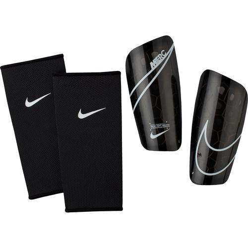 Nike Mercurial Lite Schienbeinschoner in black-black-wht, Größe XL