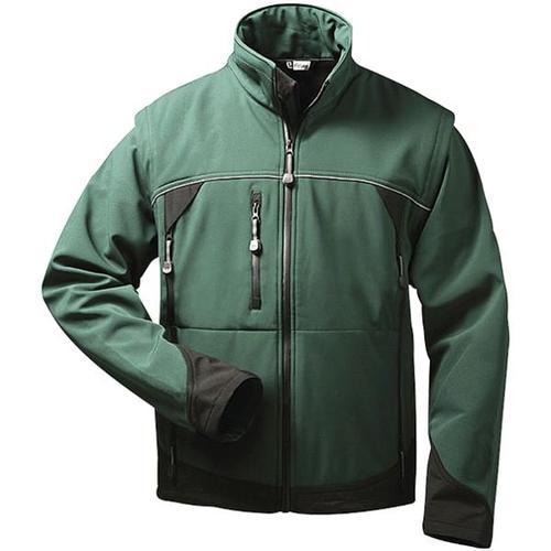 Softshell-Jacke 2-in-1 Größe L grün, elysee