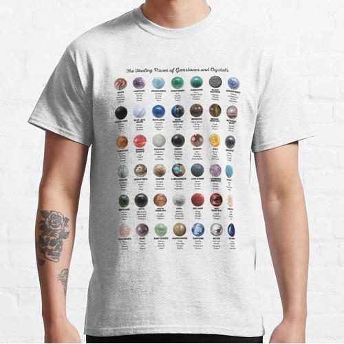 Edelsteine und Kristalle Classic T-Shirt