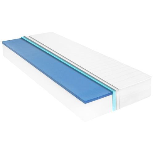 vidaXL Matratze 90 x 200 cm Viskoelastischer Memory-Schaum 18 cm