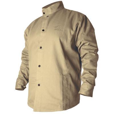 Revco Black Stallion BSX 9oz Khaki FR Cotton Welding Jacket