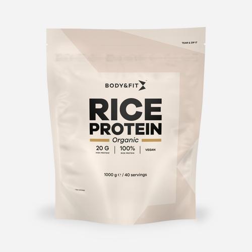 Body&Fit Biologisches Reisprotein