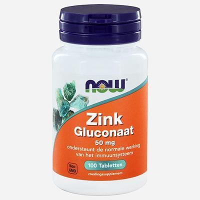 Now Foods Zinc Gluconate