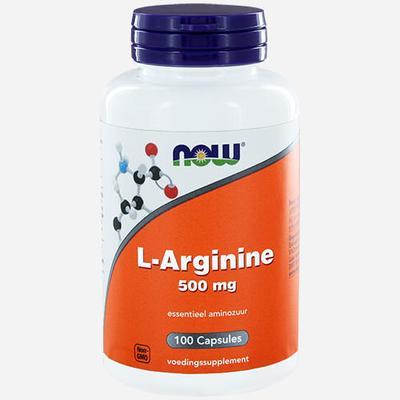 Now Foods L-Arginine 500mg